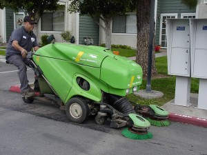 small community sweeper